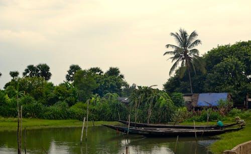 Ilmainen kuvapankkikuva tunnisteilla Intia, kalastusalus, rustiikki