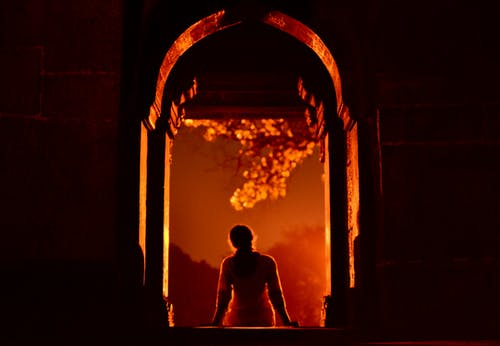 Безкоштовне стокове фото на тему «архітектура, жінка, Індія»
