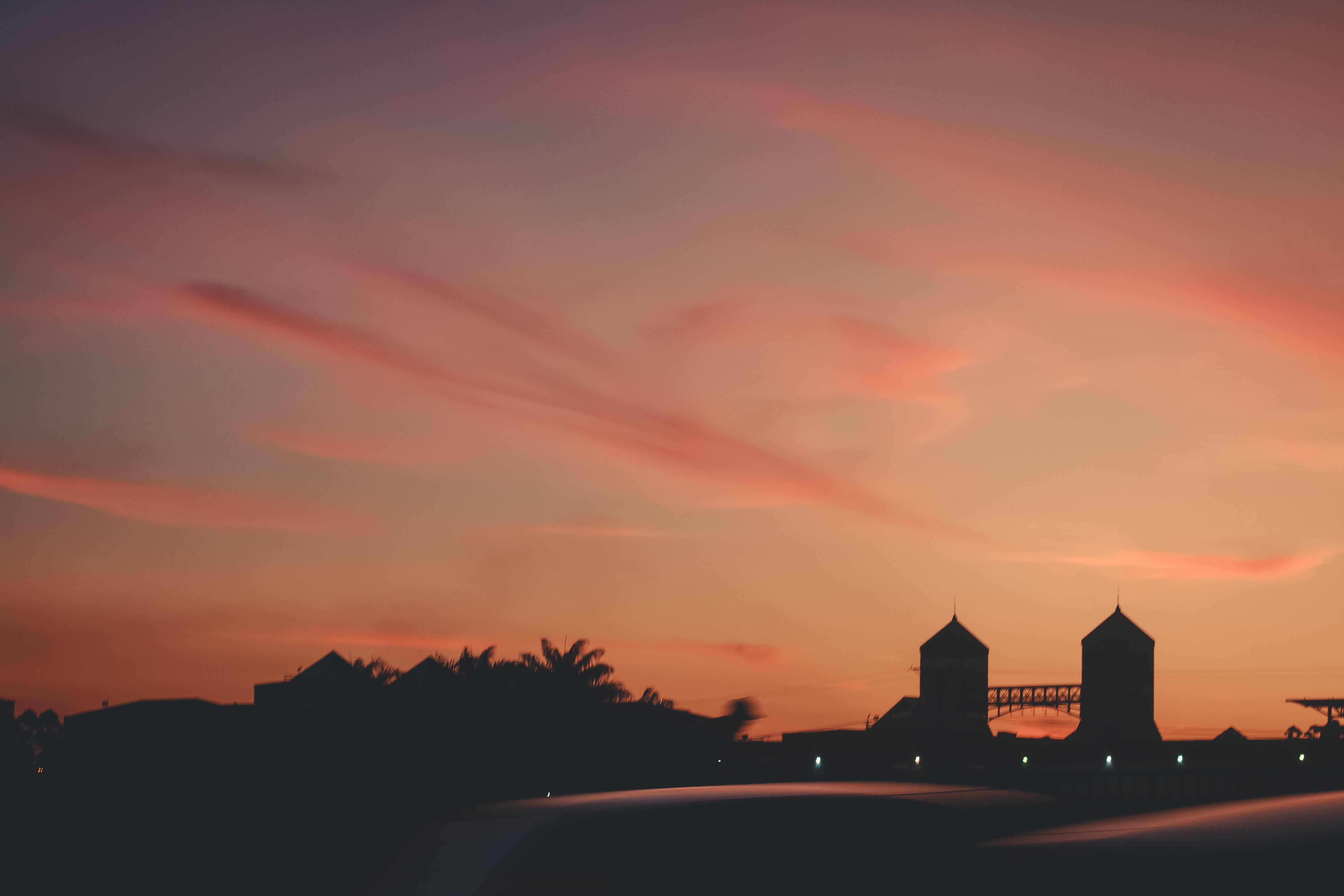Free stock photo of city, sun, sunset