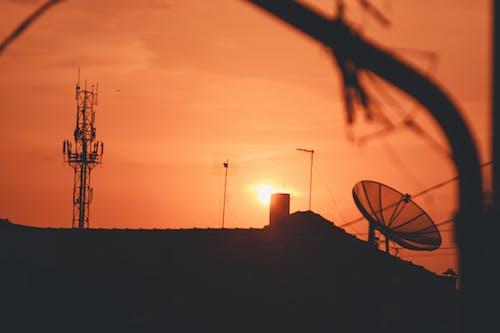 Ingyenes stockfotó nap, naplemente, napnyugta, város témában