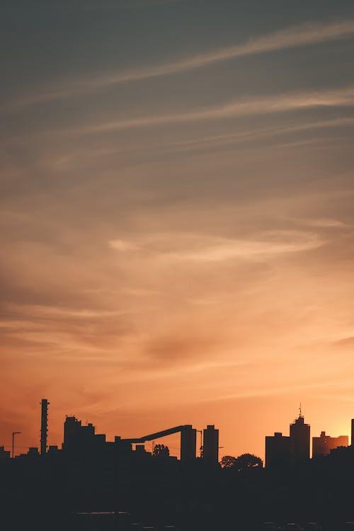 Ingyenes stockfotó nap, naplemente, város témában