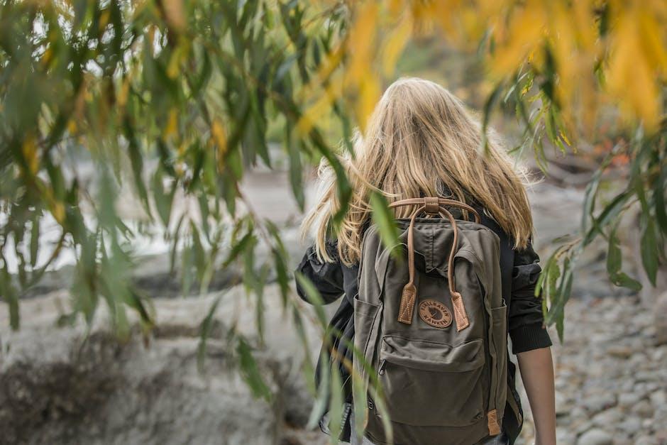 Free Stock Photo Of Backpack Blonde Blonde Hair