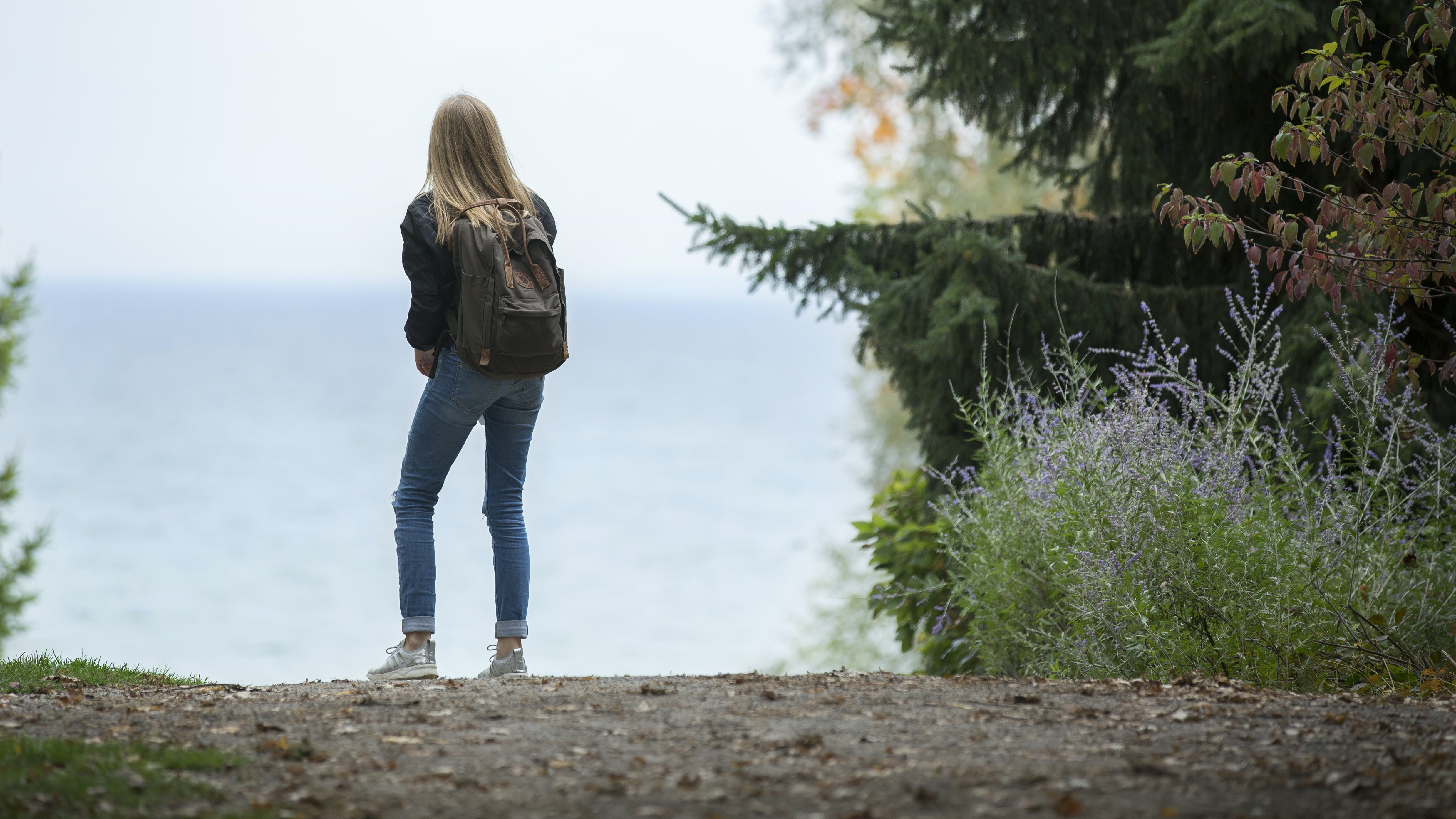 adventure, backpack, beach