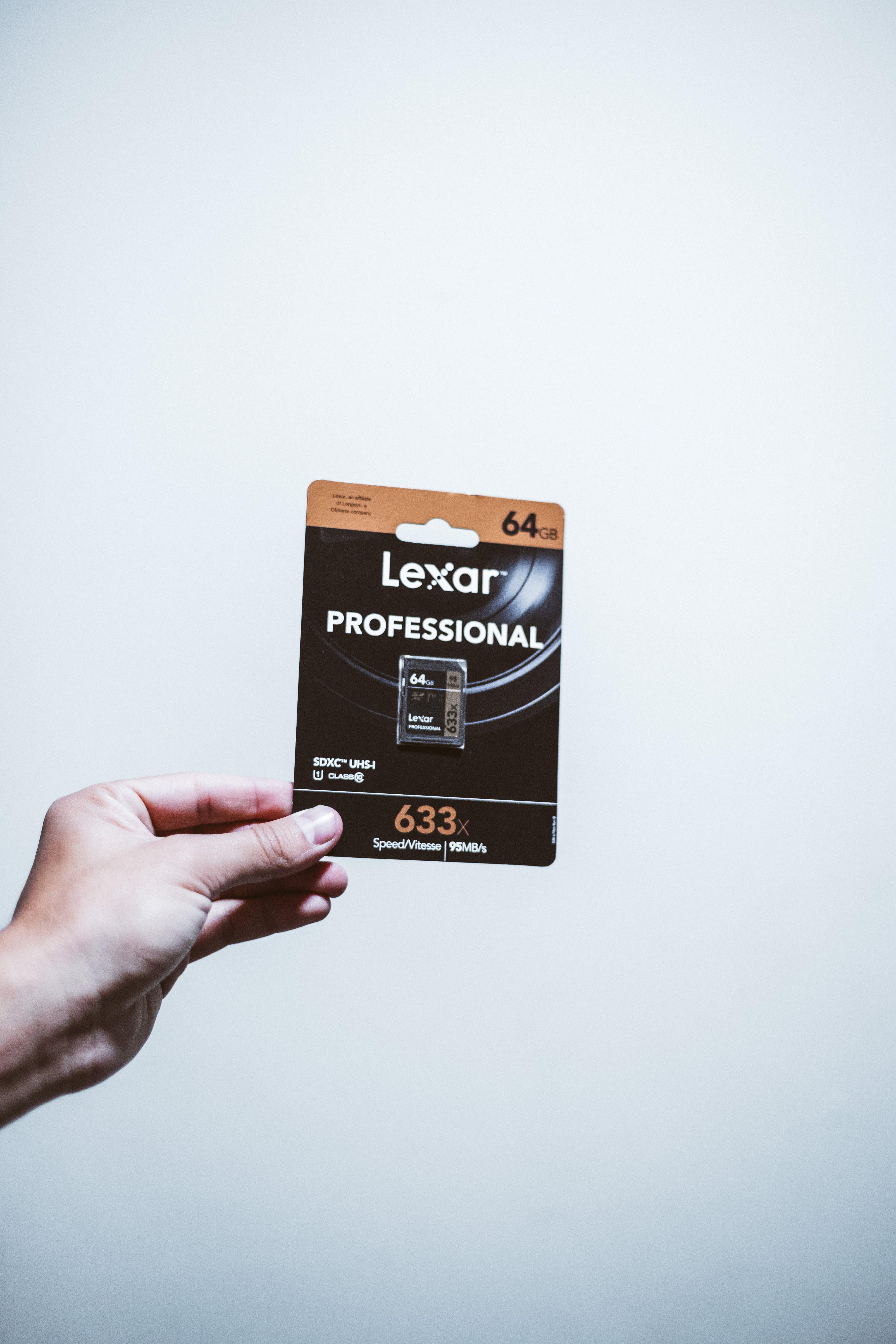 64gb Lexar Macro Card Pack