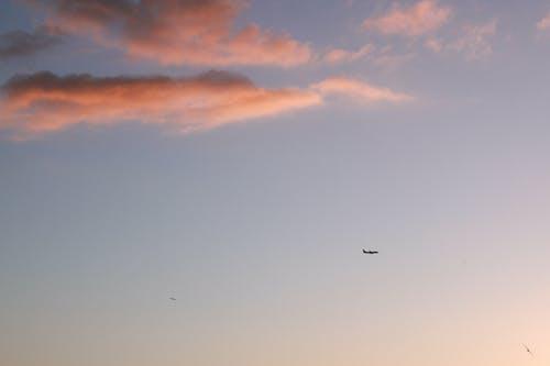 Foto stok gratis awan, backlit, bayangan hitam, cuaca