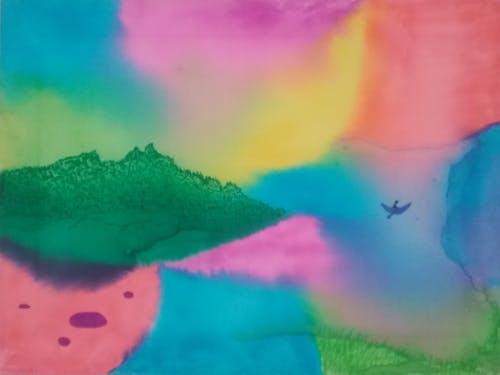 Immagine gratuita di abstrait, acrilico, acrylique, arte