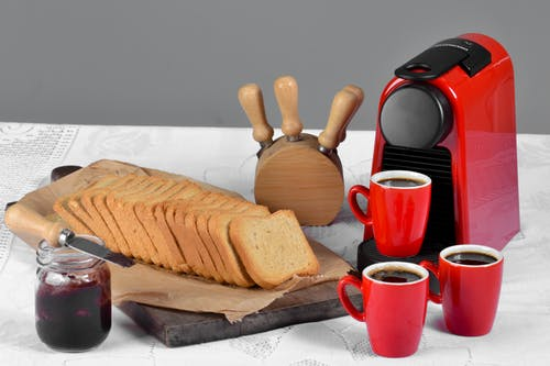 Gratis lagerfoto af kaffe, morgenmad