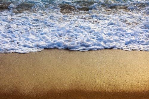 4k 바탕화면, HD 바탕화면, 거품, 모래의 무료 스톡 사진