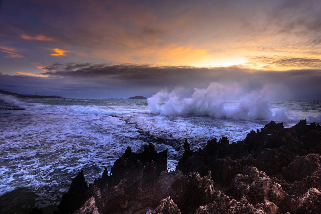air, alam, angin ribut
