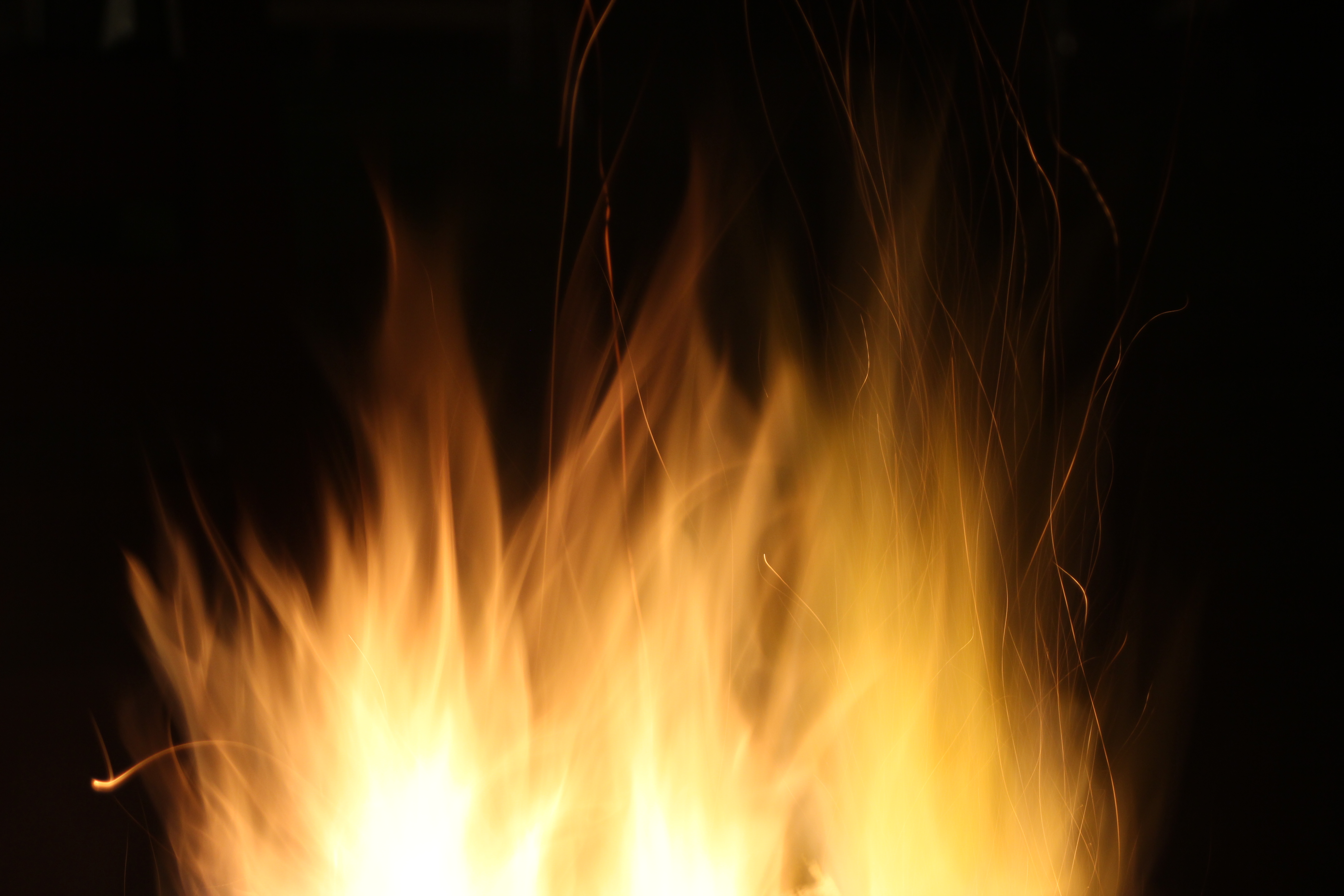 Free stock photo of night, dark, yellow, fire