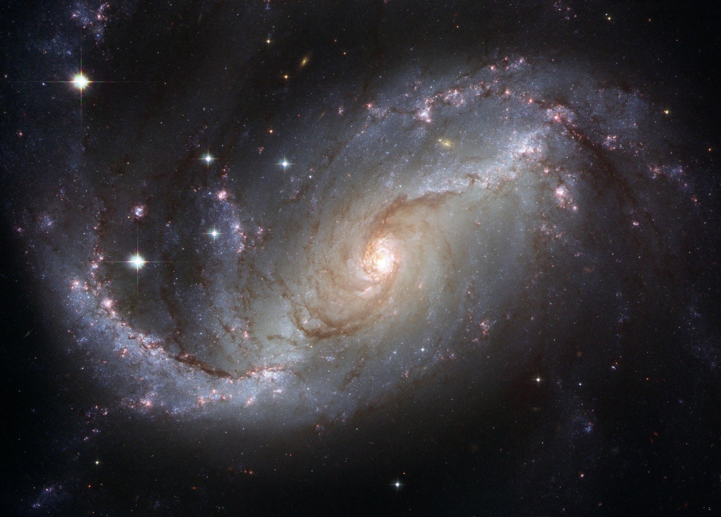 Gray And Black Galaxy Wallpaper Free Stock Photo