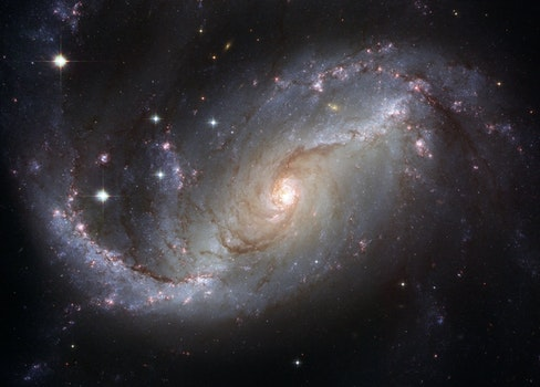 HD wallpaper of space, dark, galaxy, stars