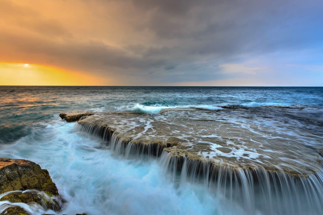 fotografie přírody, horizont, idylický