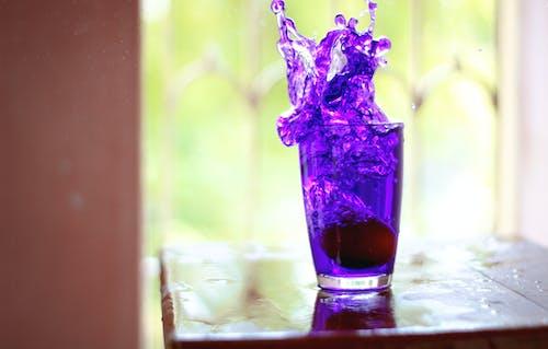 玻璃容器, 番茄, 藍色 的 免费素材照片