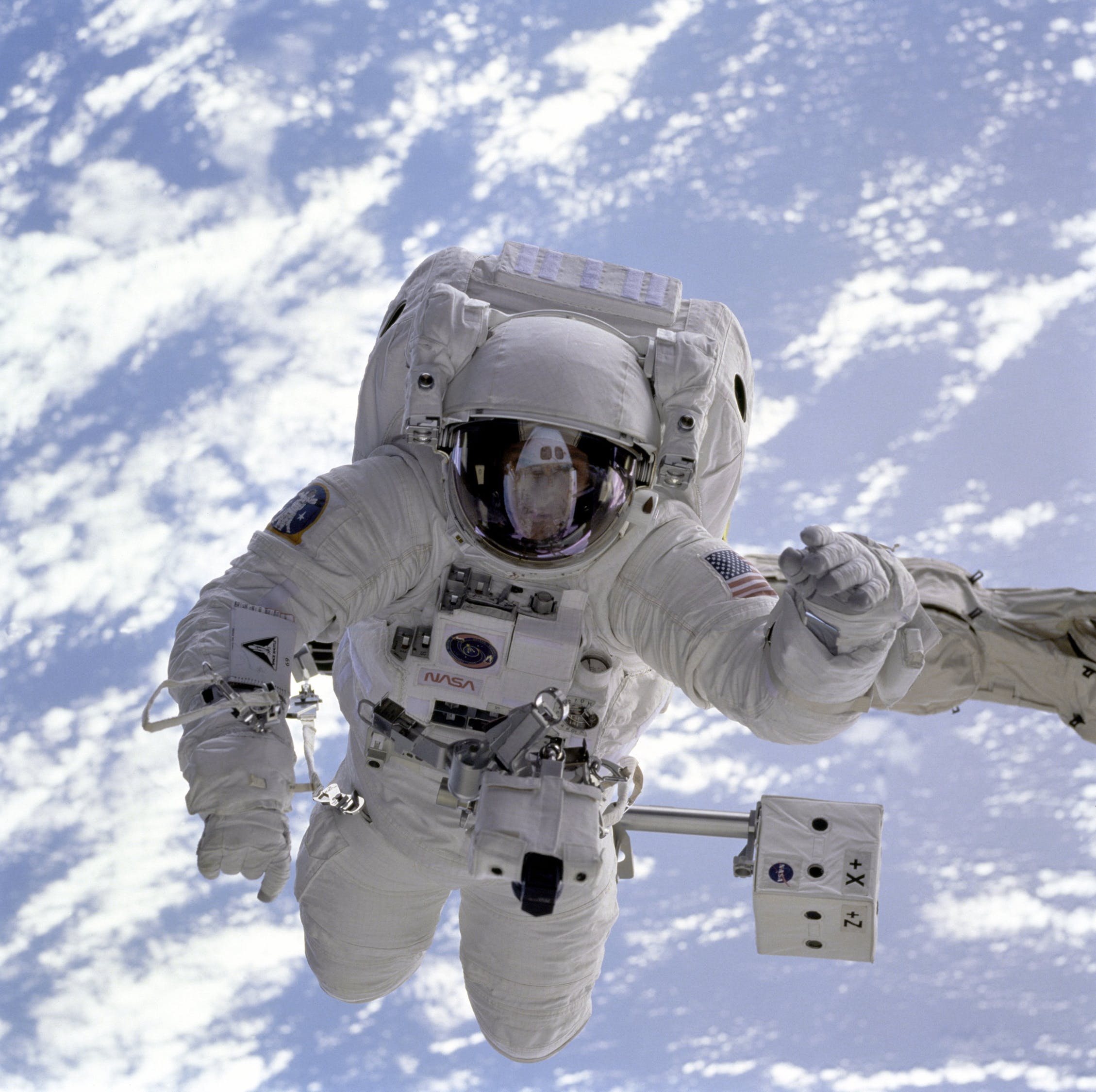 Astronauts are not allowed to eat beans before they go into space because passing wind in a spacesuit damages them.