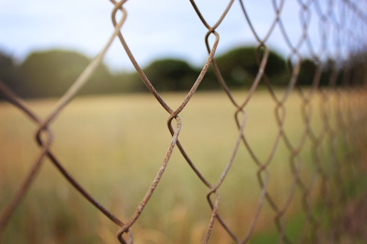 Free stock photo of field, meadow, rust, fence