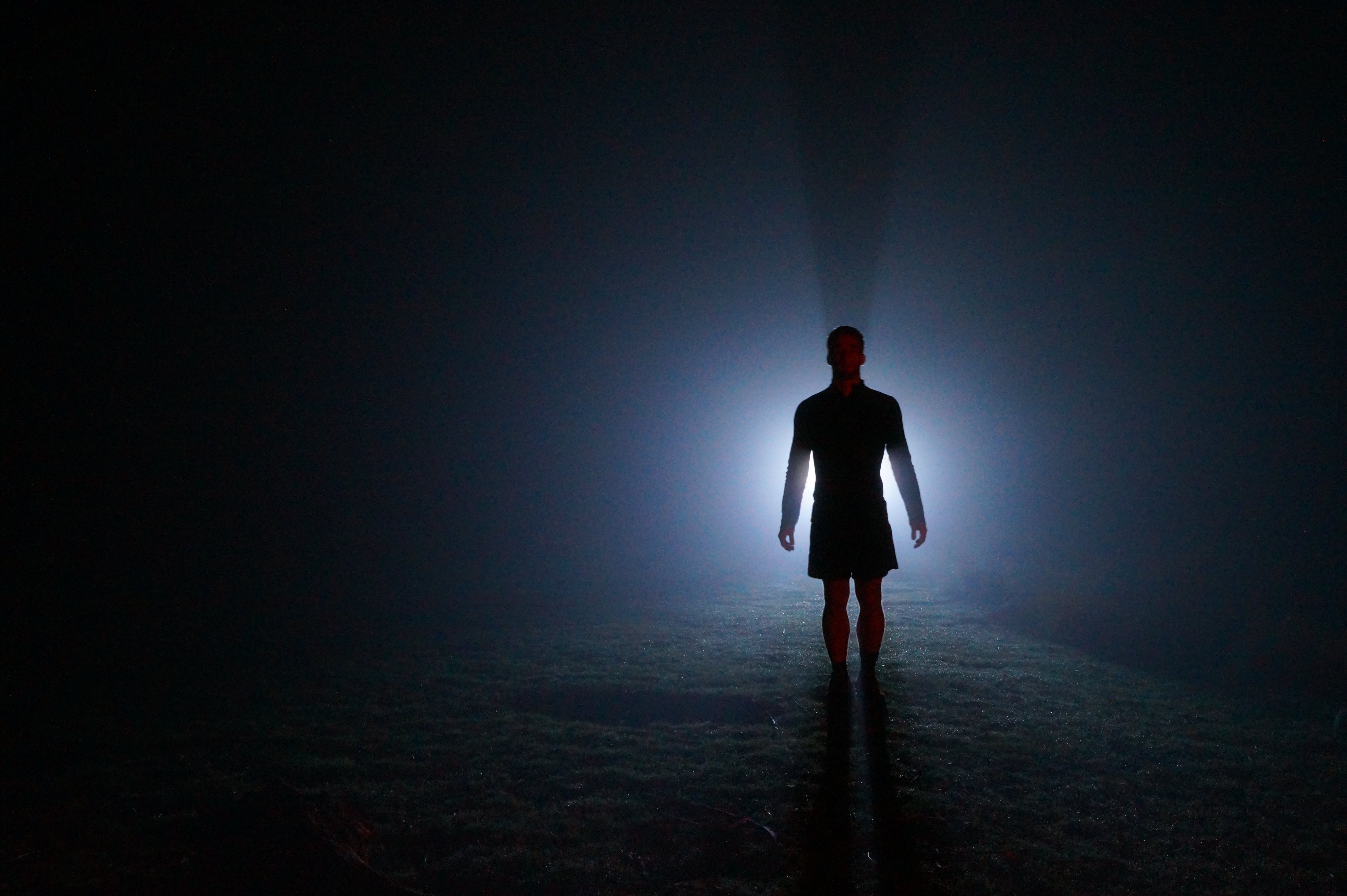 Free stock photo of flashlight, midnight, silhouette, torch