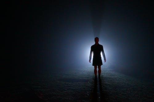 Kostnadsfri bild av ficklampa, midnatt