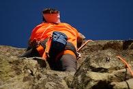 man, mountain, hiking