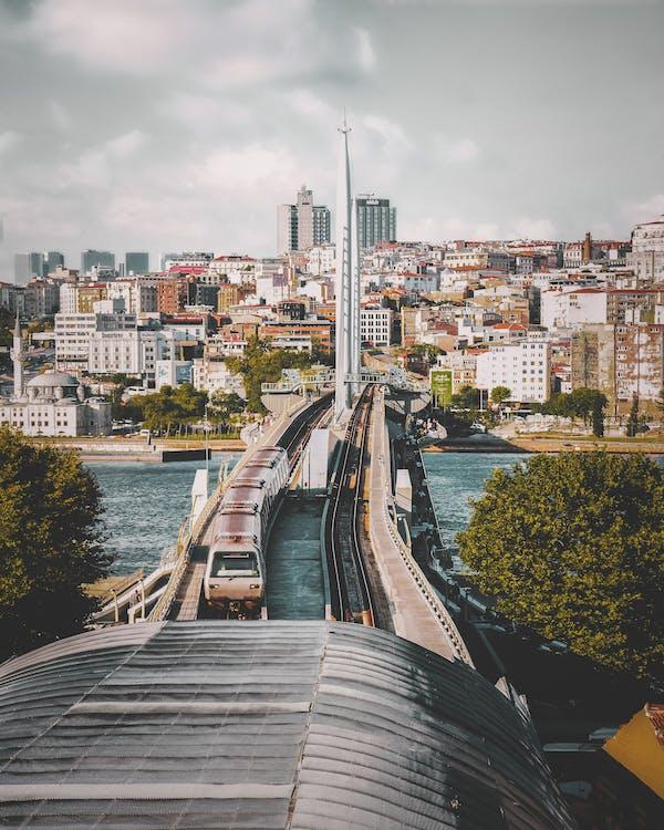 αρχιτεκτονική, αστικός, γέφυρα