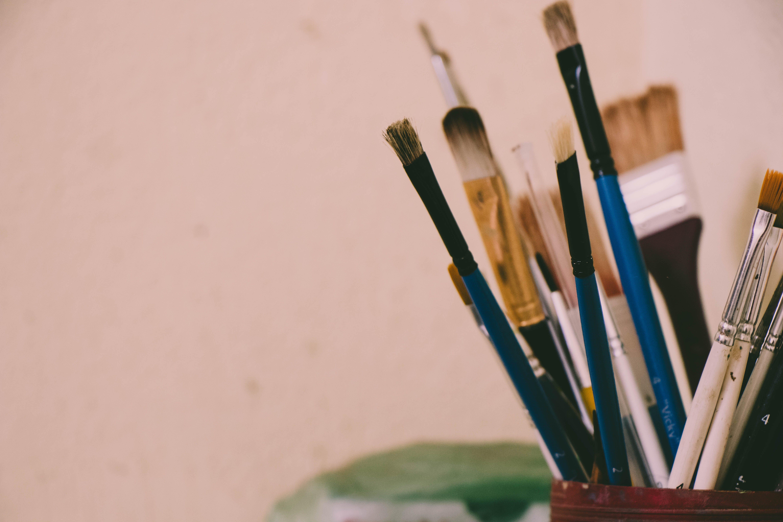 Free stock photo of paint brush
