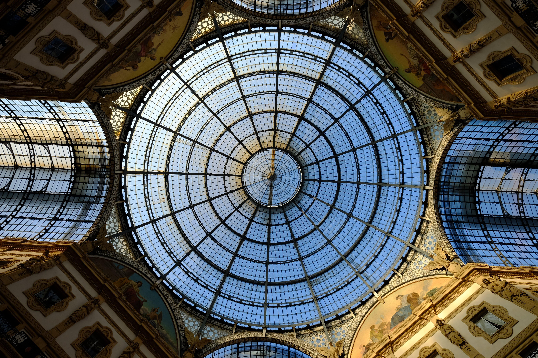 Darmowe zdjęcie z galerii z architektura, budynek, kopuła, perspektywa żabia