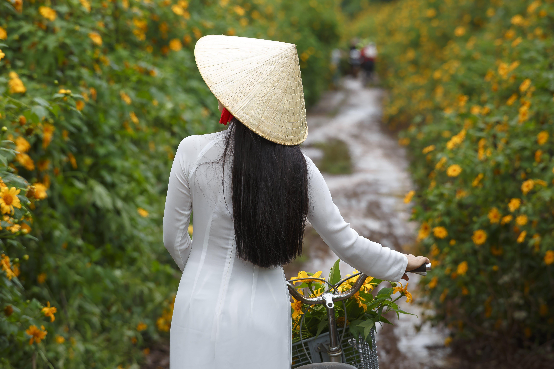 Gratis arkivbilde med asiatisk jente, asiatisk kvinne, asiatisk person, blomster