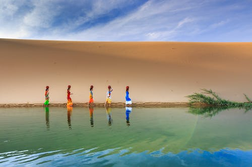 Darmowe zdjęcie z galerii z czas wolny, kobiety, kolorowy, krajobraz