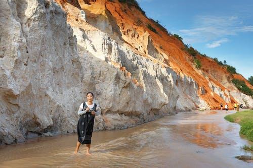 Foto d'estoc gratuïta de a l'aire lliure, aigua, arbres, asiàtica