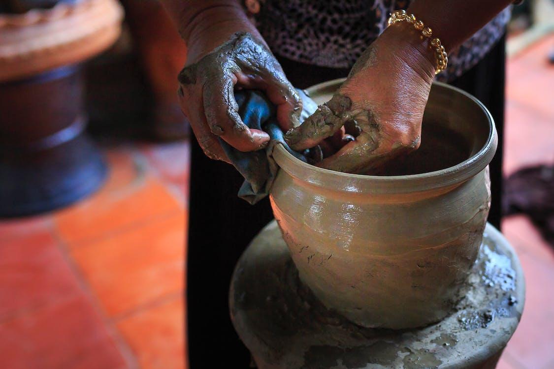 aptitudine, argilă, artizan