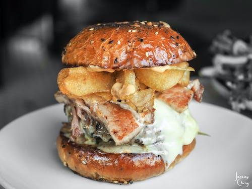Imagine de stoc gratuită din burger, fotografie alimentară, mancare americana