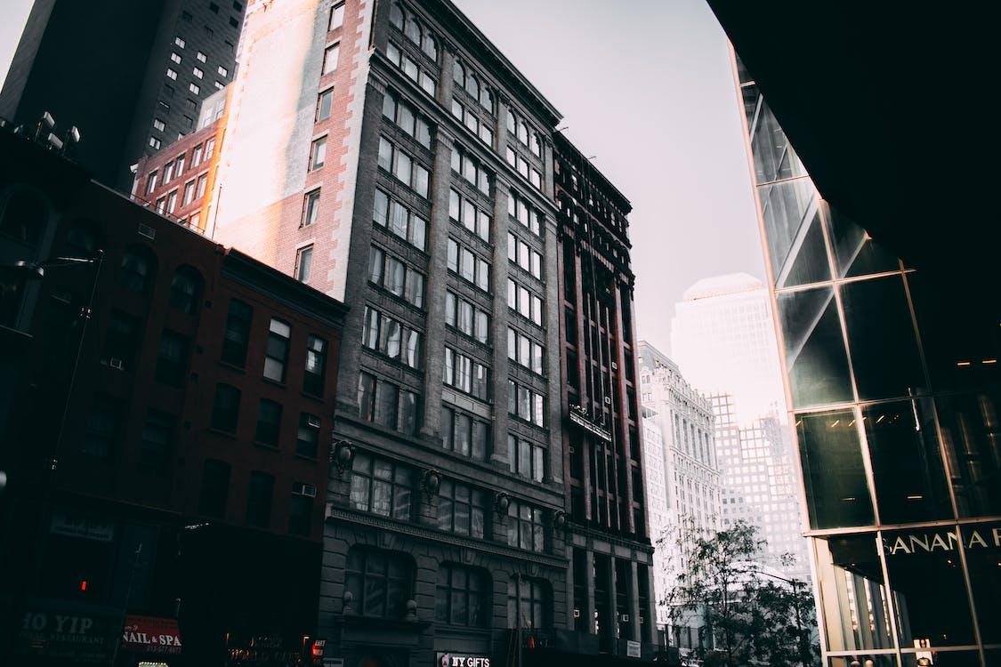 arkitektur, boligblokk, by