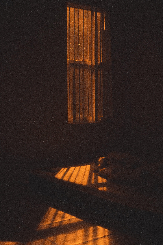 Kostenloses Stock Foto zu allein, einsam, nach dem regen, nacht