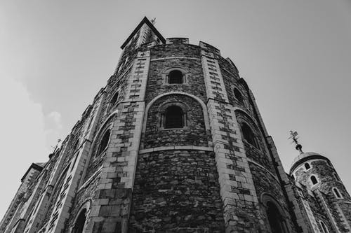 Low Angle View Of Stone Building