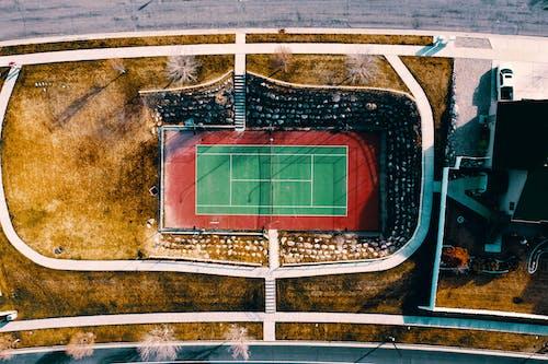 Základová fotografie zdarma na téma dron, fotografie zdronu, snímek zdronu, tenis