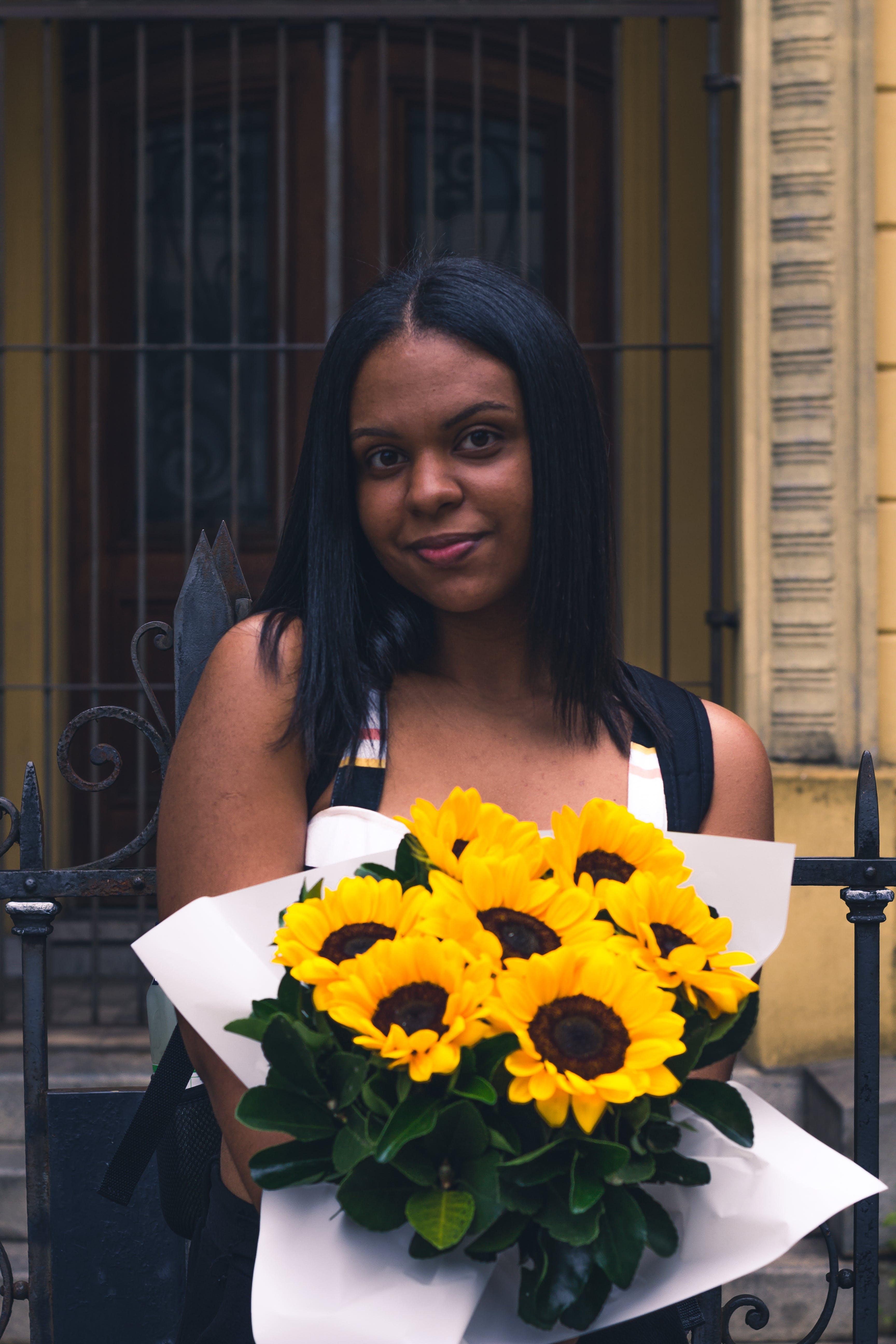 Foto profissional grátis de amarelo, arte, Brasil, flor bonita