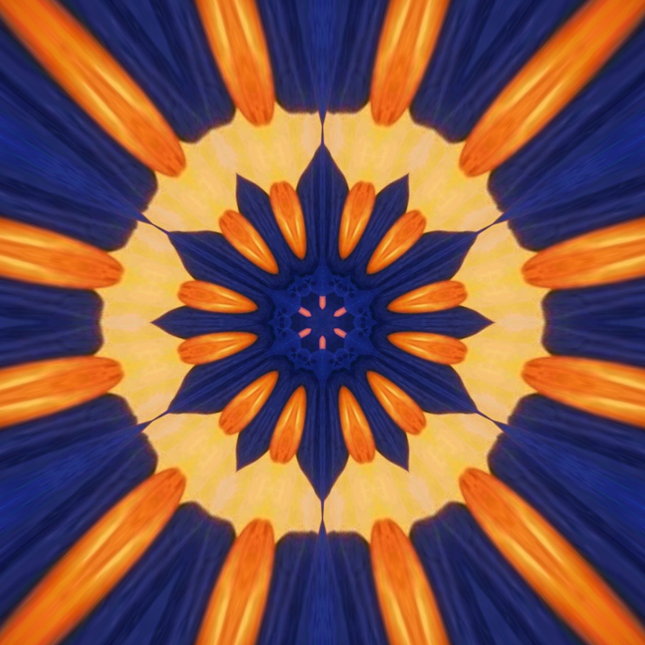 Gratis lagerfoto af abstrakt maleri, blå, close-up, design