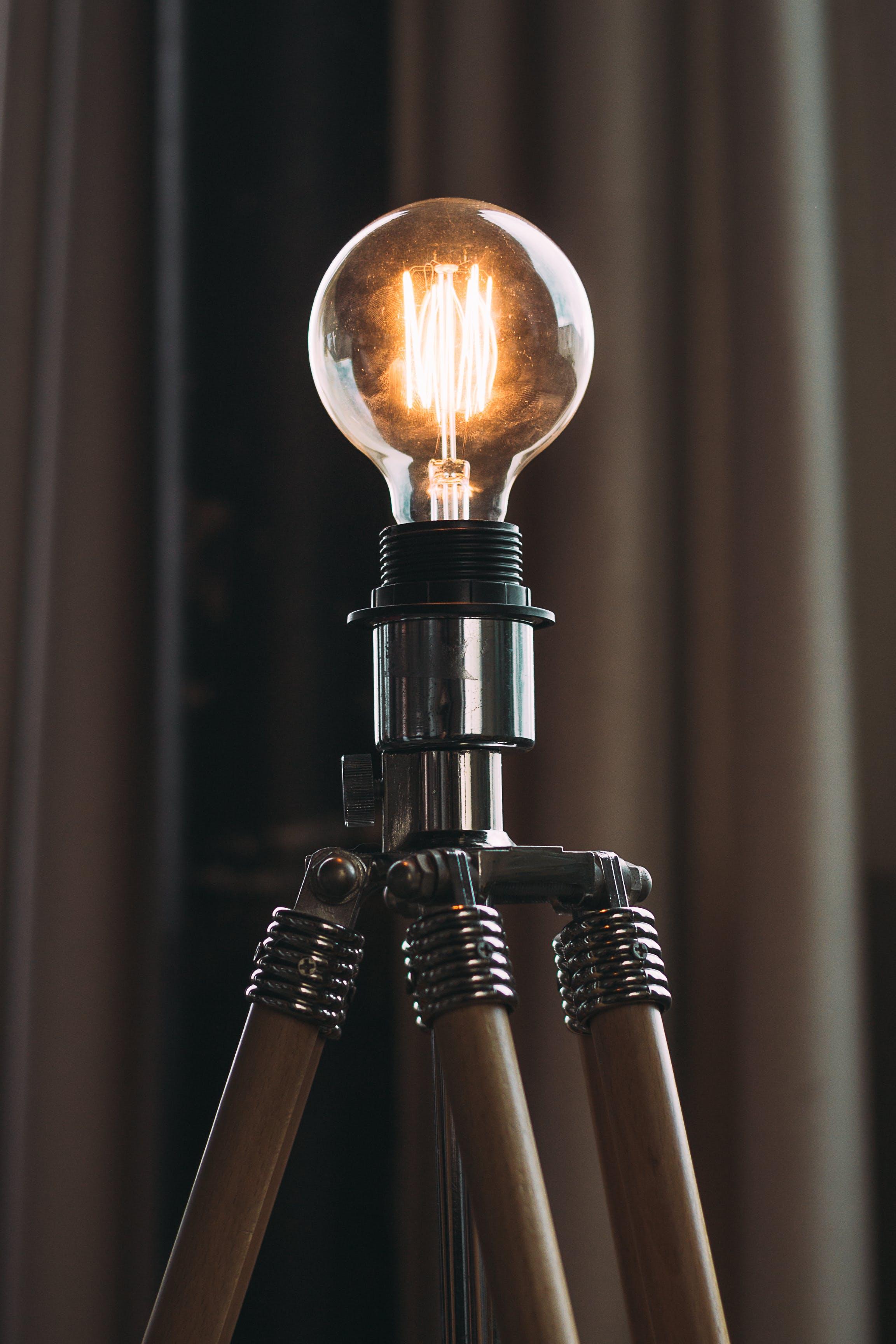 Kostnadsfri bild av elektricitet, energi, glödlampa, ljus
