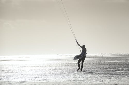 Gratis lagerfoto af bevægelse, bølger, drage, ferie