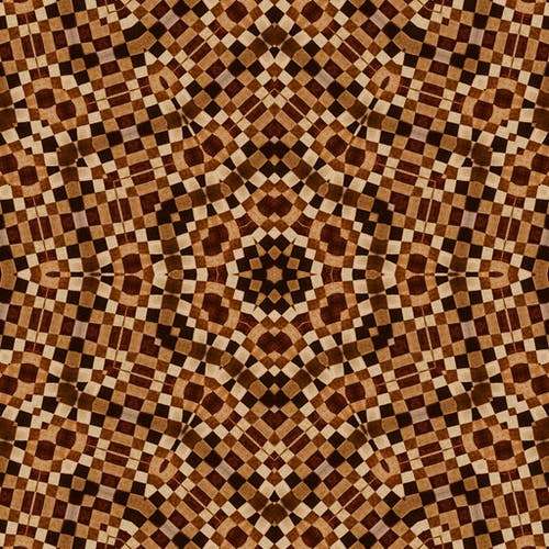Brown and Black Pattern