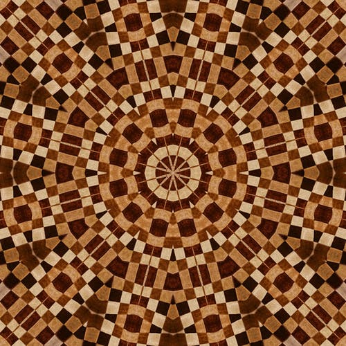 Beige and Brown Textile