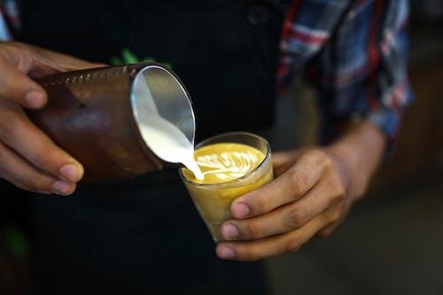 Imagine de stoc gratuită din afaceri, artă în cafea, barman, băutură