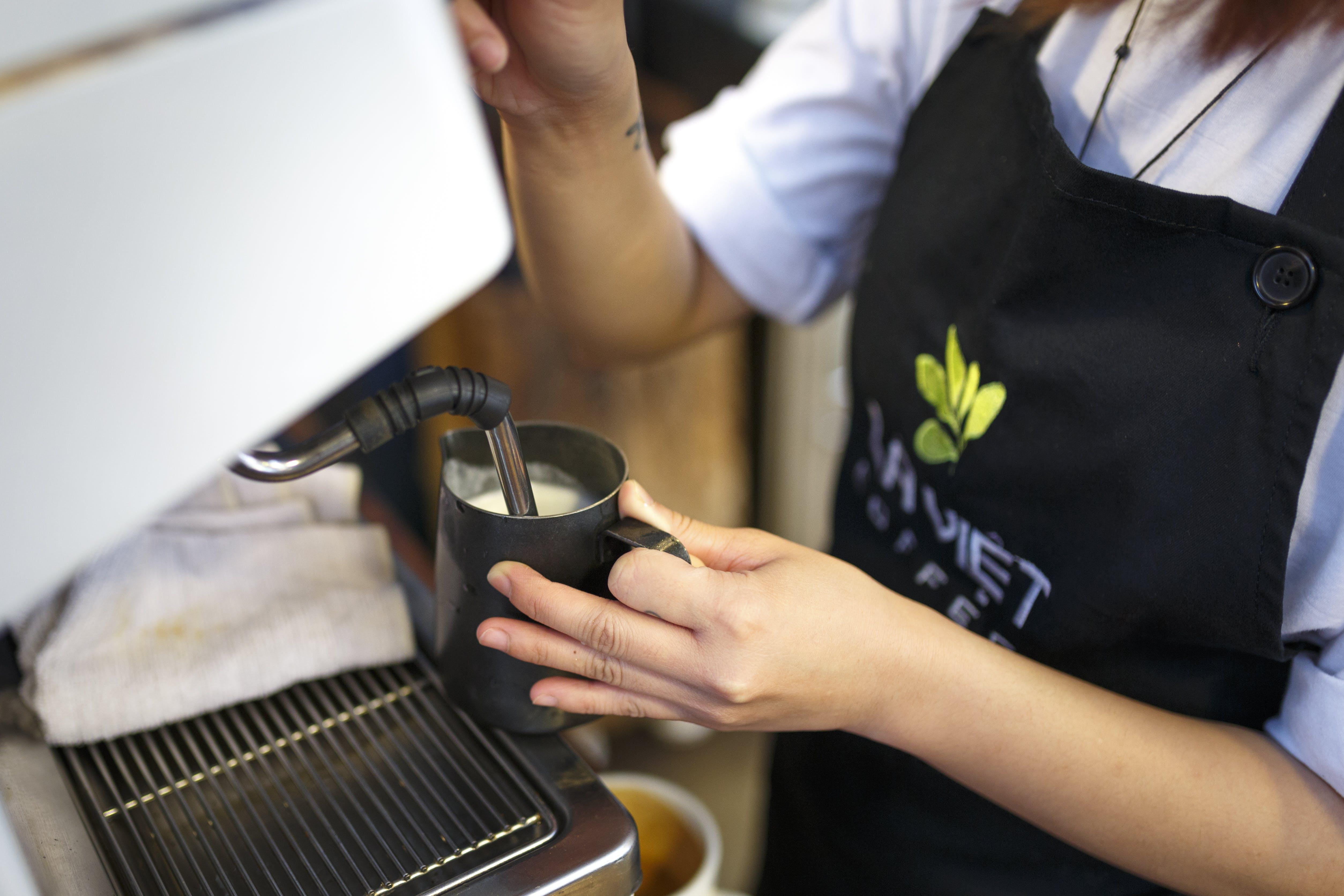 Imagine de stoc gratuită din afron, barman, cafea, cafenea