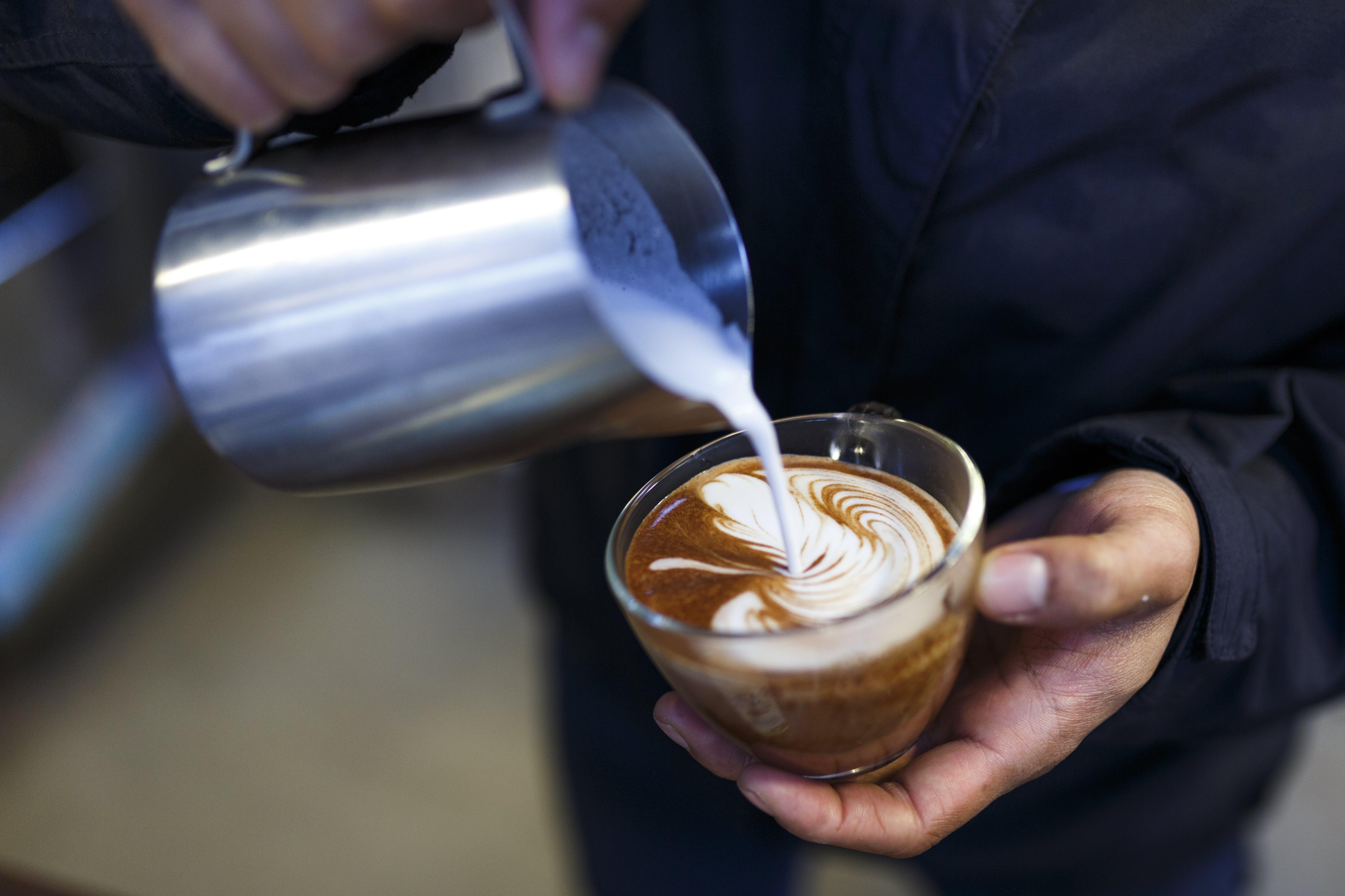 de adentro, arte latte, barista, beber