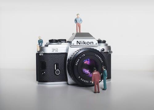 Imagine de stoc gratuită din 50 mm, antichitate, aparat de fotografiat vechi, aparat foto Nikon