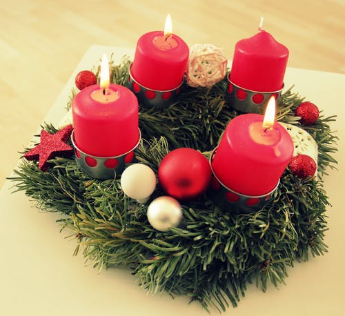 Free stock photo of advent, candle, candles, christmas