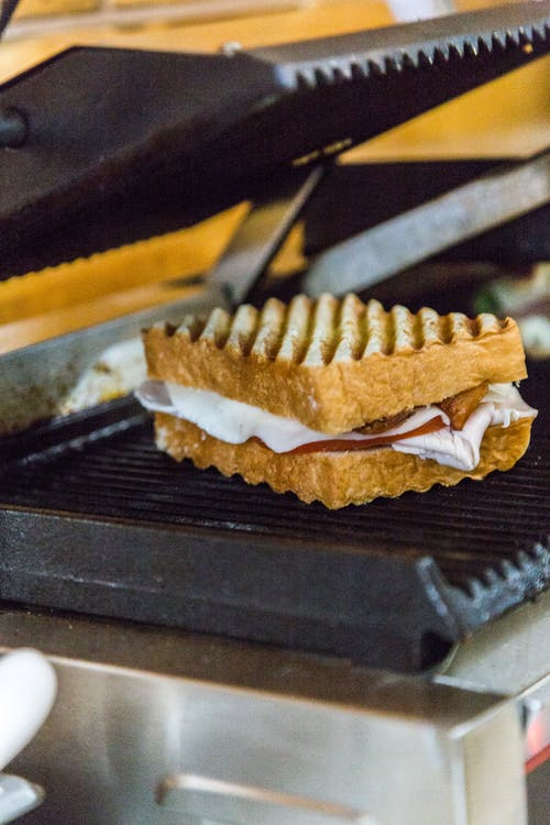 Sandwich on Electric Griddle