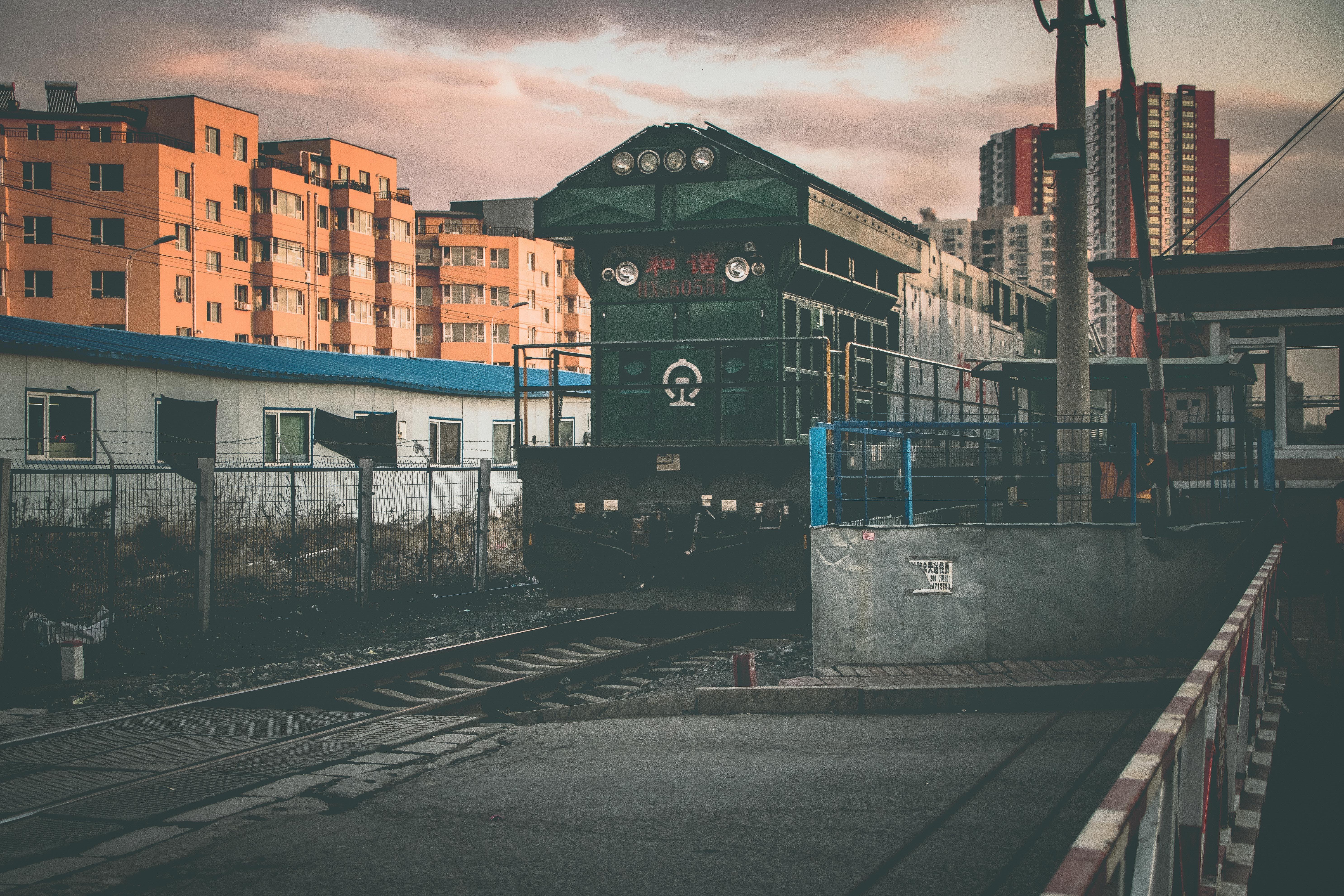 Immagine gratuita di allenare, ferrovia, sistema di trasporto, stazione