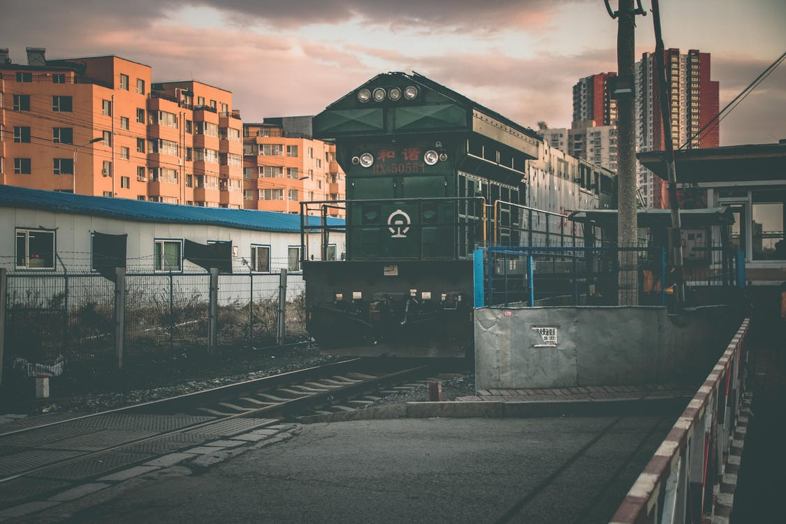 Громадський транспорт, залізниця, Залізничний вокзал
