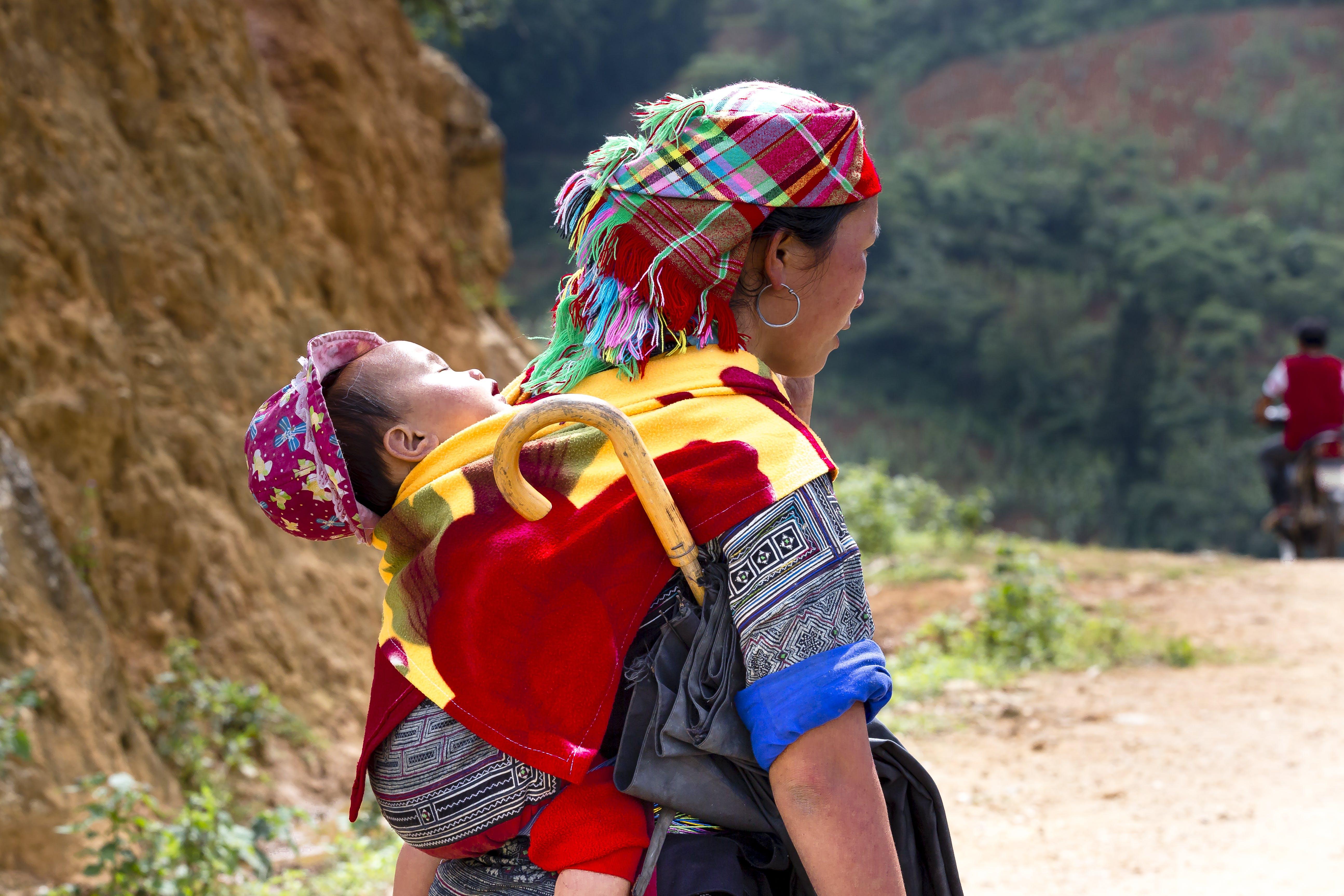 Foto stok gratis anak, anak asia, bayi, dewasa